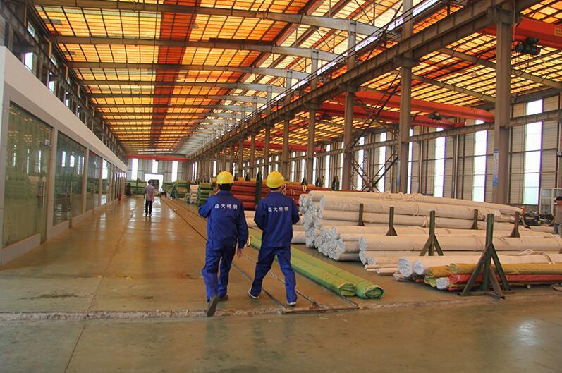 浙江益大特钢专业生产特大口径不锈钢无缝管,最大外径可做1400mm(图5)